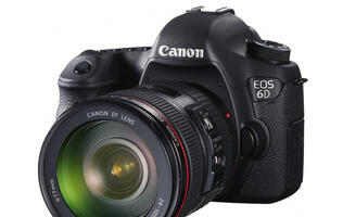 Canon EOS 6D - Beginner Friendly Full-frame DSLR