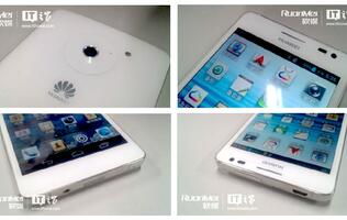 More Leaked Photos of Huawei Ascend D2