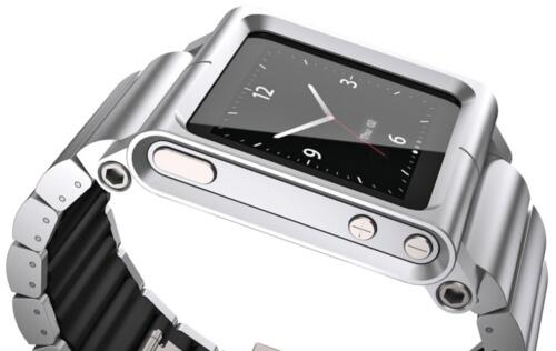 LunaTik Lynk - All-Metal Watch Band for Your iPod Nano
