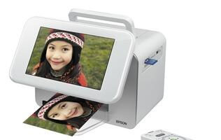Epson PictureMate PM310 - Photo Frame and Printer in One