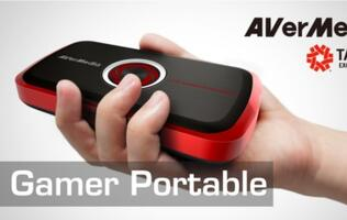 AVerMedia to Unveil Live Gamer Portable at Dreamhack Winter 2012