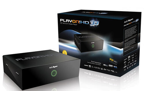 AC Ryan Playon!HD 3D Network Media Player - Throwing 3D Into the Mix
