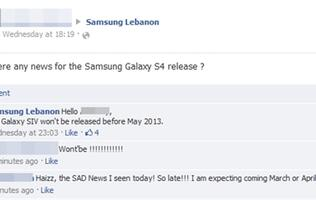 Samsung Galaxy S IV Might Launch in May, According to Samsung Lebanon