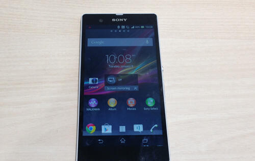 Sony Officially Unveils the 5-Inch Xperia Z, Global Launch in Q1 2013