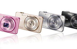 Seven New Cyber-shot Cameras from Sony with Enhanced SteadyShot and Wi-Fi