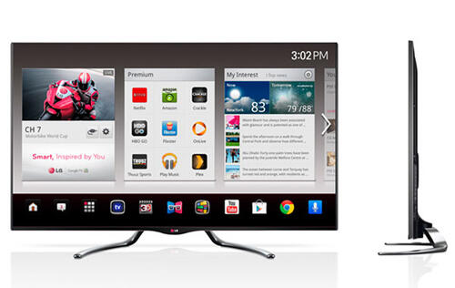 LG Showcases Google TVs, Ultra HD & OLED TVs at CES 2013 (Updated!)