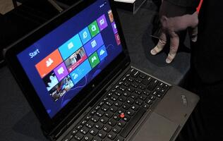 Hands-On: Lenovo Thinkpad Helix
