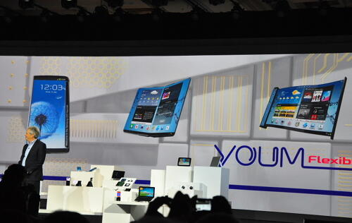 Samsung Unveils Flexible YOUM OLED and Green LCD Display Technologies