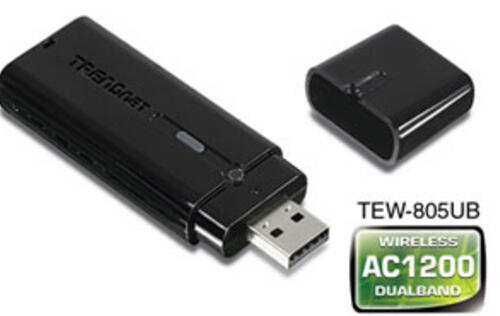 Trendnet Unveils Its First AC1200 Wireless Adapter with USB 3.0 Port
