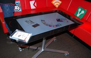 Lenovo's 39-inch Concept Table PC