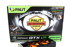 Palit GeForce GTX 470 - Providing Relief from the Heat