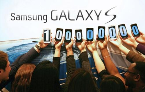 Over 100 Million Samsung Galaxy S Phones Sold Since May 2010