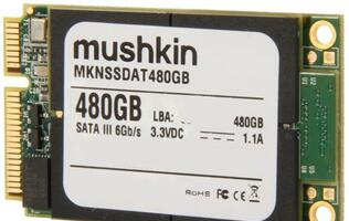 Mushkin Announces U.S. Availability of 480GB Atlas mSATA SSD