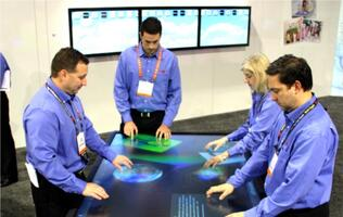 3M Previews 84-inch Multi-touch Display at CES 2013
