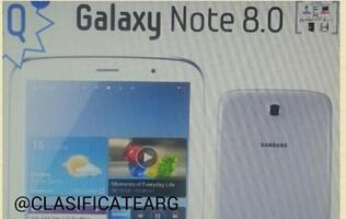 Samsung to Unveil Galaxy Note 8 at MWC 2013 (Update)