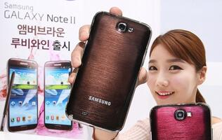 Samsung Galaxy Note II to Come in Two New Colors