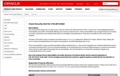 Oracle's Latest Security Patch for Java Not 100% Foolproof