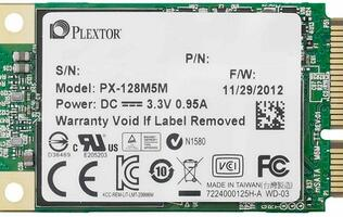 Plextor M5M mSATA SSD for Ultrabooks and Tablet PCs Announced