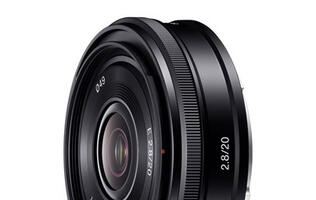 Sony Announces 20mm f/2.8 Pancake Lens for NEX