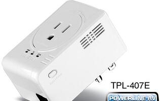 TRENDnet Ships Smallest Powerline 500 AV Adapter with Built-in Outlet