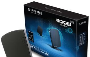 Sapphire Edge HD4 Mini PC Incorporates Latest Intel Mobile Processor Technology