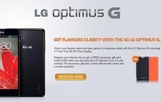 Register Your Interest in the LG Optimus G at M1 and StarHub
