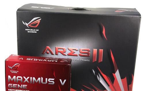 ASUS ROG ARES II Radeon HD 7990 - The God of War Returns