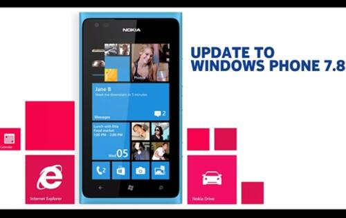 Windows Phone 7.8 Update Available Now for Nokia Lumia Devices Running on 7.5