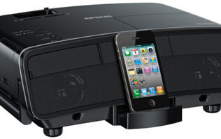Epson MG-850HD - A 720p Projector with a Dock for Your Apple Device