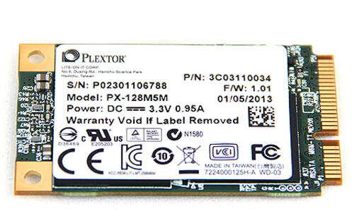 Plextor M5M mSATA SSD (128GB) - Small Wonder