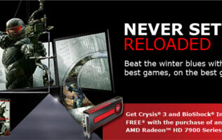 "AMD Kick Starts 2013 with the ""Never Settle: Reloaded"" Bundle Program (Updated)"