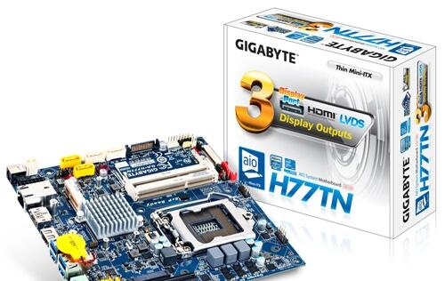 Gigabyte Launches Two Thin Mini-ITX Motherboards