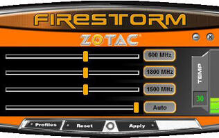 Zotac Releases New FireStorm Overclocking Utility