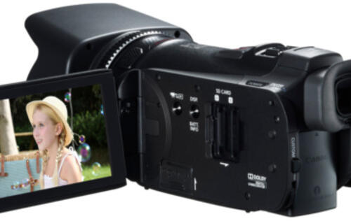 Canon Launches Legria HF G25 and HF R46 AVCHD Flash Memory Camcorders