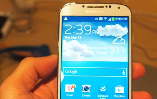 Samsung Unveils the Galaxy S4