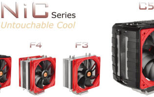 Thermaltake's New NiC CPU Coolers Compatible with Tall Memory Modules
