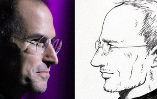 Steve Jobs Now a Manga Protagonist