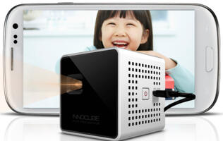 Smart Beam, World's First MHL & HDMI Pico Projector Arrives in Singapore
