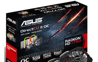 ASUS Radeon HD 7790 DirectCU II Launched