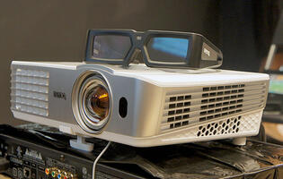 BenQ's W1080ST Is a 1080p, 3D-capable, Short Throw Home Theater Projector