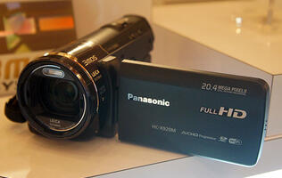 Panasonic's Newest Camcorders Come with Wi-Fi Support & Improved Toughness