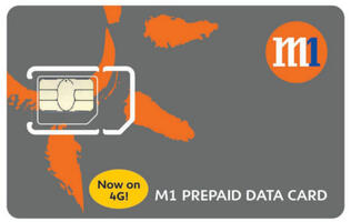 M1 Rolls Out Singapore's First 4G Prepaid Broadband Service