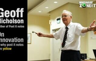 "Dr. Geoff Nicholson, the ""Father of Post-it Notes"", on 3M & Innovation"