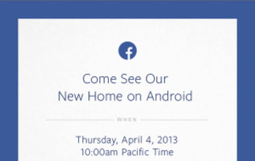 Facebook to Unveil Modified Android OS on HTC Phone? (Update)