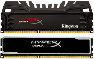 Kingston Ships HyperX Memory Kits with Black PCB