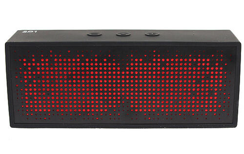 Antec a.m.p. SP1 Portable Wireless Bluetooth Speaker - Looks Could be Deceiving