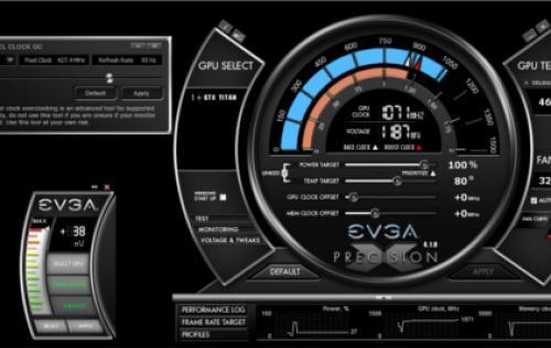 Evga precision x enable software automatic fan control | EVGA