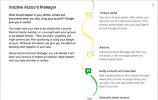 Google's Inactive Account Manager Lets You Manage Your Digital Life After Death