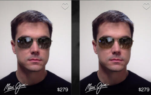 Glasses.com's 3D Fit Mobile App Scans Your Face, Lets You Try on Virtual Glasses