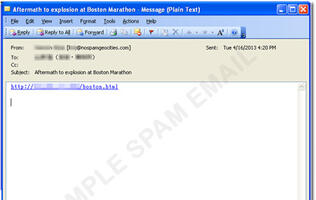 Cybercriminals Capitalize on Boston Marathon Blast
